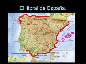 Litorial España  provincias de España con mas costa