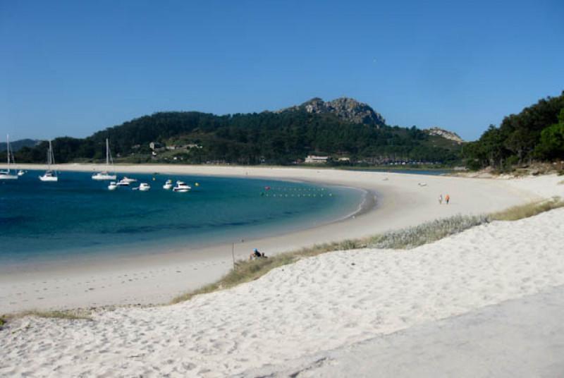 Praia da rodas en las islas cies,  probablemente la playa mas bonita del mundo